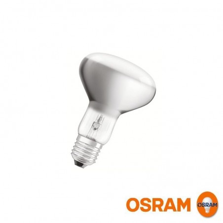 Osram Halo Bulb R80 E27 230V 77W-100W 20° 580lm 2800K Warm White
