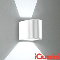 IGuzzini 5687.001 Kriss spot/flood wall white outer wall IP44