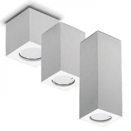 MOLVENO LIGHTING Neos Small Ceiling Lamp Plaster Gypsolyte