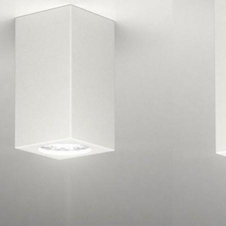MOLVENO LIGHTING Neos Small Faretto da Soffitto Gesso Gypsolyte