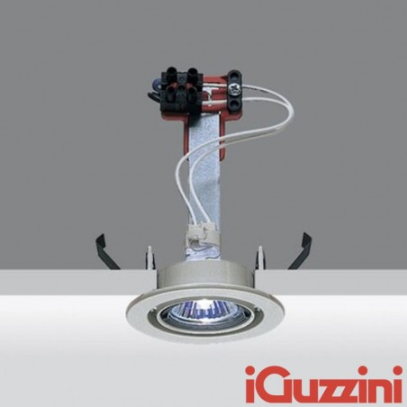 iGuzzini 8090.015 Mini Laser spotlight Recessed Round Grey 35W Halogen GU10 LED