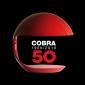 Martinelli Luce Cobra E27 Table Lamp Red Design Elio Martinelli 1968, 50th Anniversary