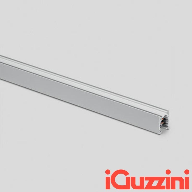 iGuzzini 6773.012 Binario Elettrificato in Alluminio 3 metri 31x38