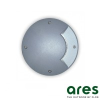 Ares Vega LED 1W Faretto da Incasso Monodirezionale Pavimento Esterno IP67 Grigio