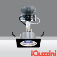 iGuzzini 8003.004 Laser spotlight Recessed Square 50W Halogen GU5.3 led black