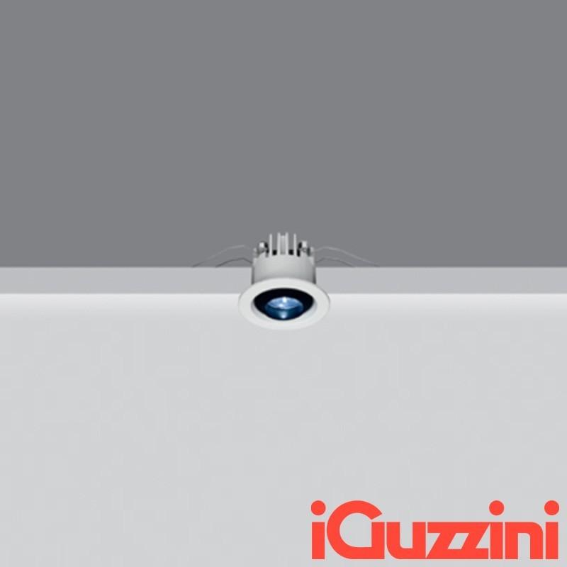 iGuzzini M937 Deep Laser Faretto Incasso Rotondo Fisso bianco 1,6W LED 3000K