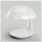 Martinelli Luce Cobra E27 Table Lamp Red Design by Adolini+Simonini Associati