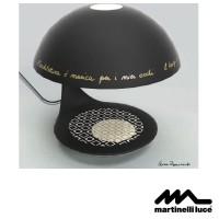 Martinelli Luce Cobra E27 Table Lamp Design by Luisa Bocchietto