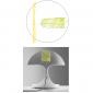 Martinelli Luce Cobra E27 Table Lamp Design by Giorgio Brogi