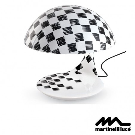 Martinelli Luce Cobra E27 Table Lamp Design by Emiliana Martinelli