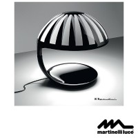 Martinelli Luce Cobra E27 Table Lamp Design by Marcello Morandini