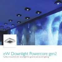 Philips EW Downlight Powercore 9 led silver 2700K ceiling lamp