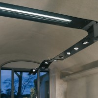 Targetti black pendant lamp sherazade 1t2187 1x54W fluorescence