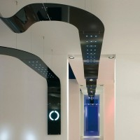 Targetti lampada sospensione bianco sherazade 1t2186 1x54w fluorescenza