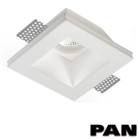 PAN INC1501 LED Paintable Chalk Recessed Spotlight GU10