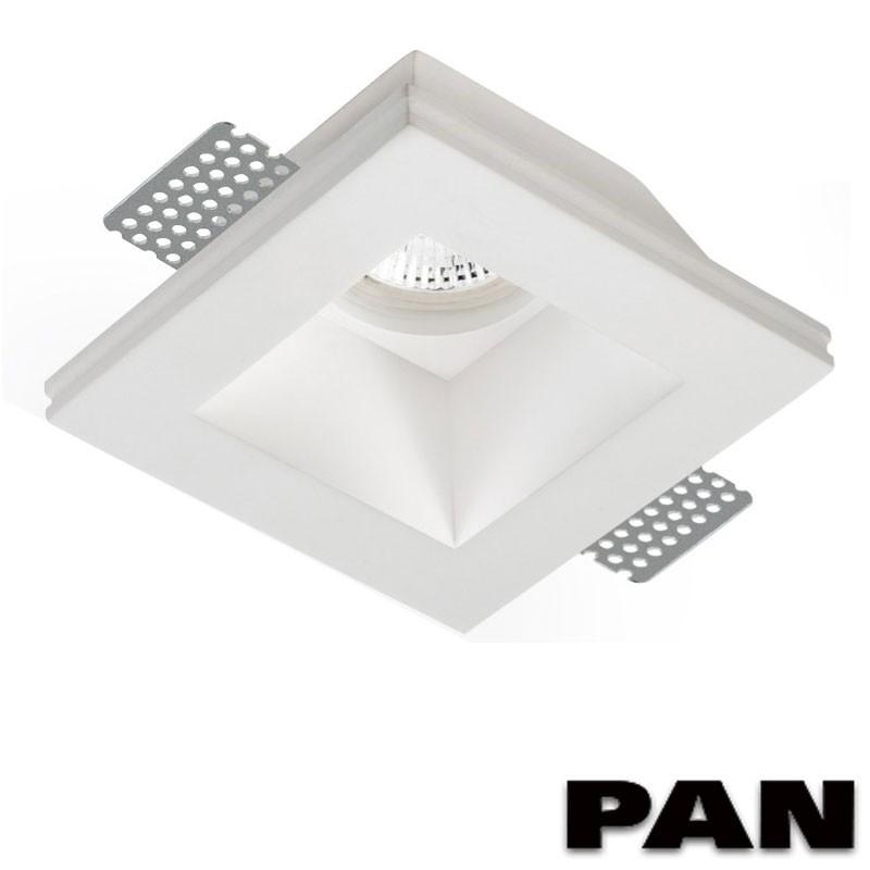Faretti Led Incasso Gesso.Pan Inc1501 Led Faretto Incasso In Gesso Verniciabile Gu10