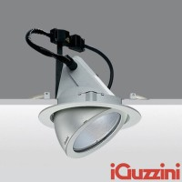 IGuzzini 8324 Pixel Grey Faro Recessed Metal Halide G12 35-70-150