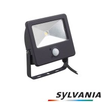 Sylvania LED Start Flood Sensor Outdoor Projector PIR 10W 850lm 4000K