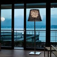 Flos KTribe F3 Outdoor Floor Lamp Green Wall Panama
