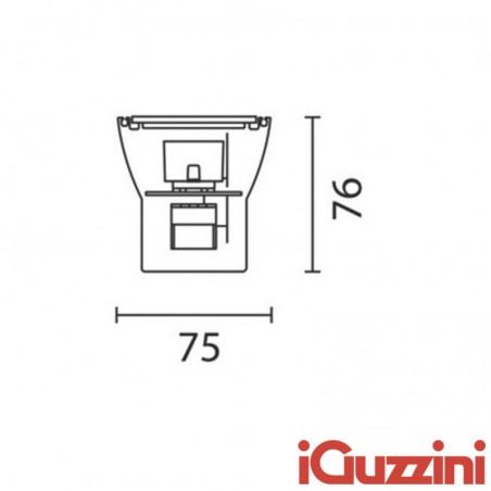 iGuzzini BB71 Linealuce 24W 4200K LED beacon wall mounted projector suspension