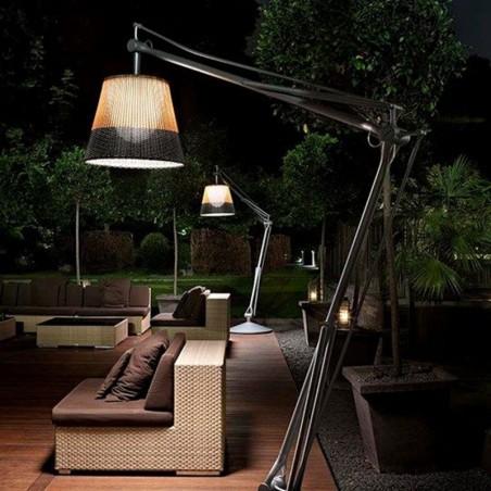 Flos Superarchimoon Outdoor Lampada Da Terra Per Esterno Green Wall Panama