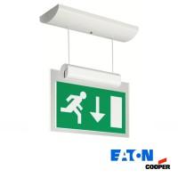 Cooper-Eaton VIA8-PSD 8 LED Lampada di Emergenza a Soffitto Sospensione IP40