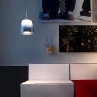 Flos Ktribe S1 Suspension Lamp Fumèe or Silver