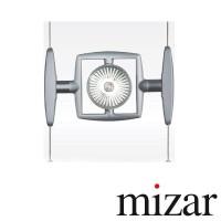 Mizar Focus Planetarius SPOT orientabile E27 sistema su cavi 230V Design Paolo Torcolacci