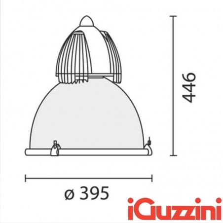 IGuzzini 4306 Berlino sospensione industriale suspension industrial IP65 lamp