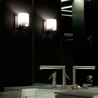 Flos Tilee Applique Wall Lamp Chrome/White F7460009