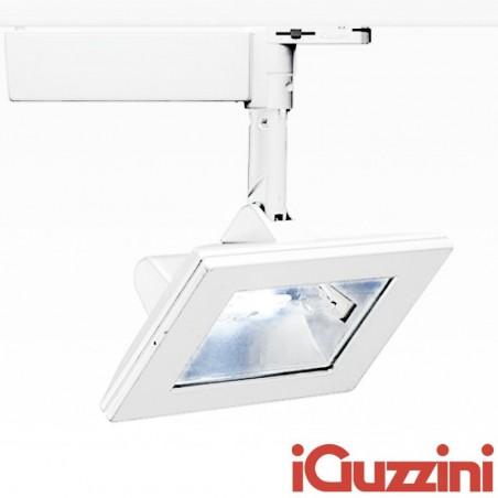 IGuzzini 4816.001 Parallel 70W RX7s Bianco proiettore ioduri metallici Binario