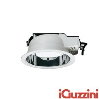IGuzzini 3278.001 spotlight Recessed Easy Round White White 2x26W Fluorescent