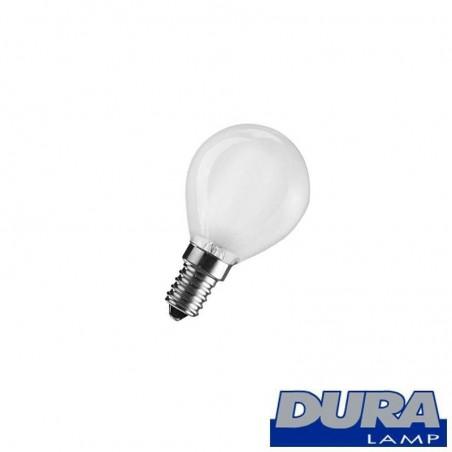 Duralamp OPAL E14 60W GLOBE INCANDESCENT bulb MINI BALL