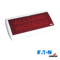 Cooper Eaton 5055 LED Acoustic Optical indicator Fire Emergency Lamp IP40