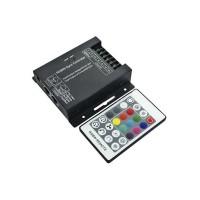 Controller RGBW 433MHz 12-24V 4ch*6A RJ45 per Strip LED con Telecomando
