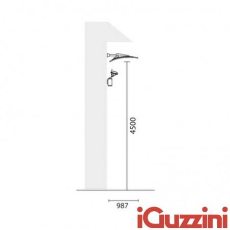 IGuzzini 7741 Mininuvola external indirect light wall sconce