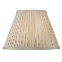Paralume Plissettato per Lampada Abat-jour Attacco E27 Plissè 25 cm