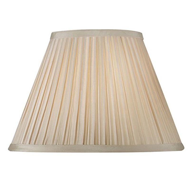 Paralume Plissettato per Lampada Abat jour Attacco E27 Plissè 25 cm