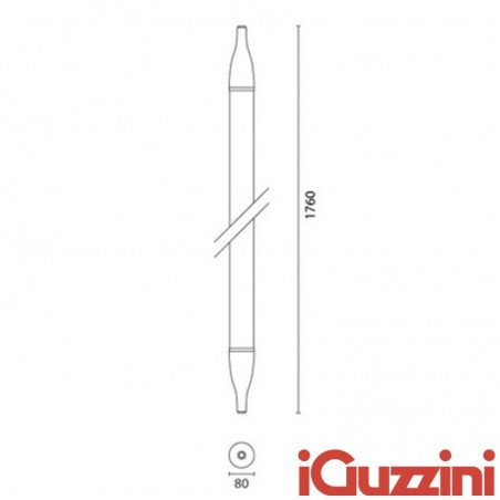 IGuzzini 6742 iSign 2x35W linear suspension