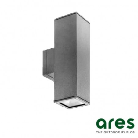 Ares Visca Applique single emissionn Wall Lamp 1X35W G12 for outdoor aluminum