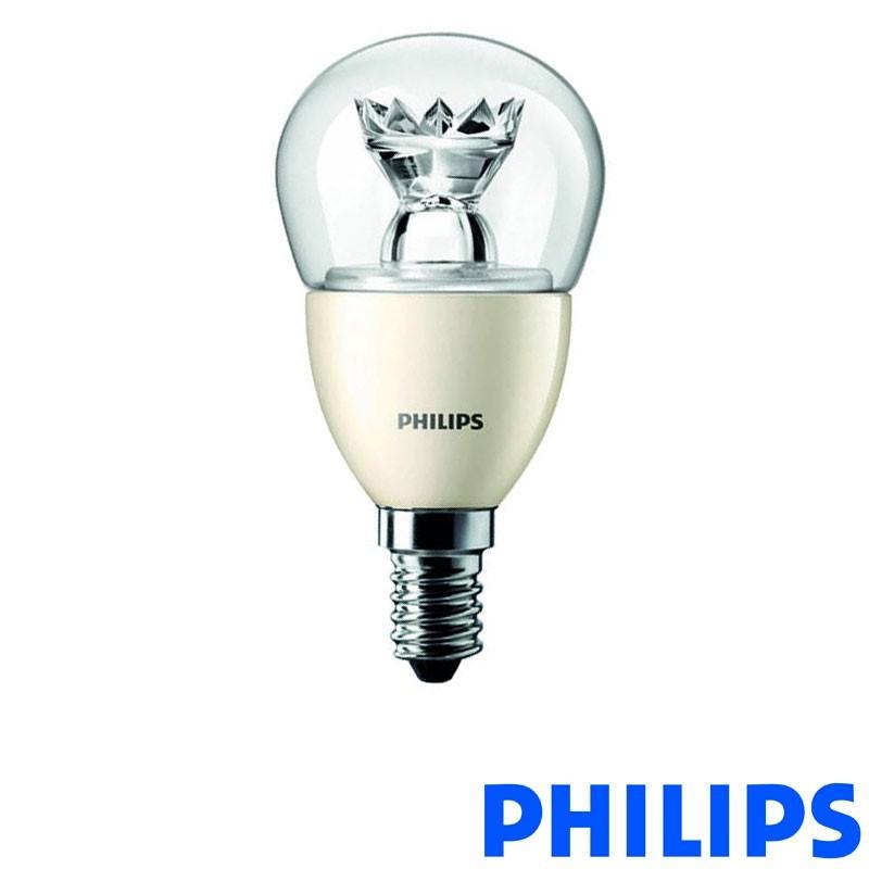 Philips Master LEDLuster D Sparkling 6.2-40W E14 2700K Lampadina LED