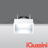 IGuzzini MA37 deep laser bianco 12W led faretto incasso Quadrato