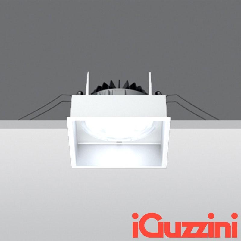 IGuzzini MA37 deep laser bianco 12W led faretto incasso Quadrato - Diffusione...