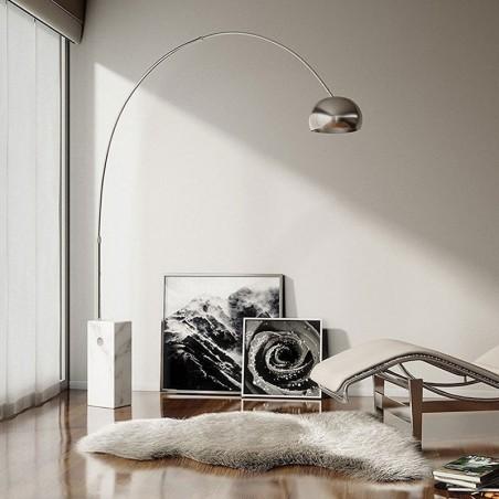 Flos Arco LED Lampada da Terra F0303000 Achille Castiglioni made in Italy