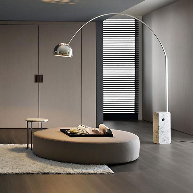 Flos Arco Led Floor Lamp F0303000 Achille Castiglioni Made