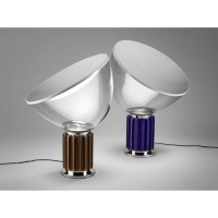 Flos Taccia Small LED Table Lamp Anodized Violet