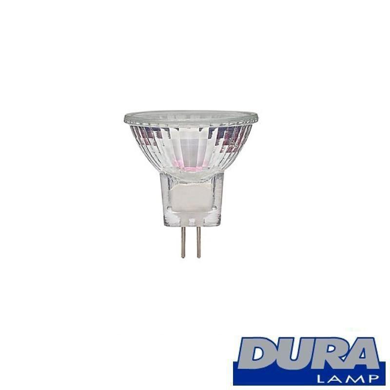 Duralamp Dichroic 12V GU4 20W FTB-P 10° Halogen Bulb