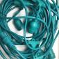 Cordoniera Verde 10 Portalampada E27 12,5 metri Uso Esterno Prolungabile con calata impermeabile