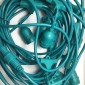 Green String Light 10 Lamp holder E27 12.5 meter Outdoor Extendable with descent cable waterproof