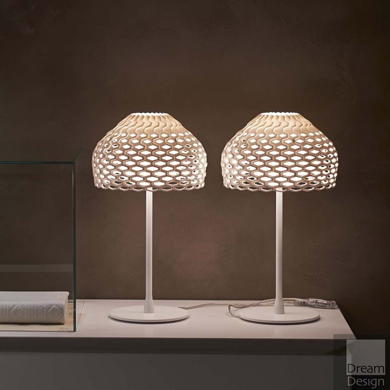 Flos Tatou T1 Table Lamp Diffused Lighting In Polycarbonate By Patricia Urquiola